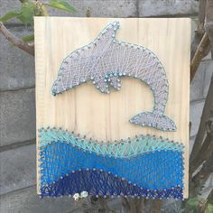 String art by Dudley Bushby