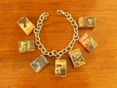 Harry Potter Book Series Charm Bracelet