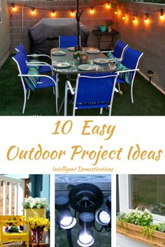 10 Easy Outdoor Projects Merry Monday Link Up Party #151