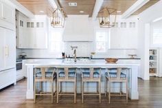 Dream Kitchen: White + Wood in HoustonBECKI OWENS