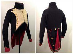 "Habit veste worn by an officer of the ""Chasseurs à pied de la Garde Imperiale"", 1812 - 1815. Source : Historic Engineering"
