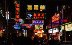 Nathan Road 彌敦道 in Mong Kok to Tsim Sha Tsui