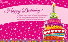 Birthday Greetings Quotes Free Birthday Card with Message