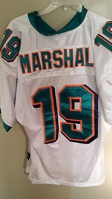 56375f8fa ... authentic Miami dolphins brandon marshall stitched football jersey size  50 adult Reebok ...