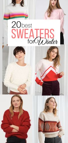 20 of my favorite sweaters to wear this winter