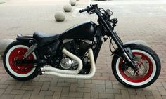 My custom...800cc Suzuki Marauder