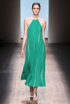 Salvatore Ferragamo Spring 2015 Ready-to-Wear Fashion Show - Vanessa Moody