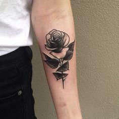 Pari Corbitt - rose tattoo
