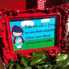 """21 curtidas, 1 comentários - 🎈Faz De Conta Atelier🎈 (@fazdecontaatelier) no Instagram: """"Hoje tem! #chapeuzinhovermelho #festachapeuzinhovermelho #littleredridinghood…"""""""