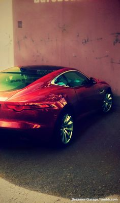 """dreamer-garage: """" Jaguar F-Type """""""