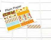 10 Fall/Autumn Labels for Plum Paper Planners! Perfect for your Plum Paper Planner, and can be customized for another planner! #SQ00319