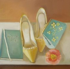 Accecessories: Painting by Janet Hill