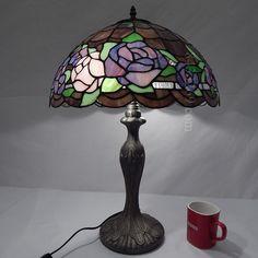 Rose Tiffany Lamp 16S0-119T311