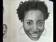 ▶ Pencil Drawing Tips- Smile Expression- Demonstration How to Draw and Shade a Realistic Face - YouTube