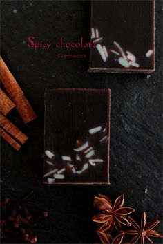 spicy chocolate soap