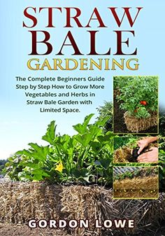 FREE TODAY  -  Straw Bale Gardening: The Complete Straw Bale Gardening Guide How to Grow More Vegetables and Herbs in Straw Bale Garden with Limited Space. (Straw bale ...  square foot gardening) by Gordon Lowe http://www.amazon.com/dp/B01AC5HQGS/ref=cm_sw_r_pi_dp_SgKLwb10Z75GZ
