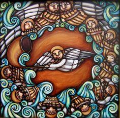 Cosmogonías y Sikuriadas Pattern Art, Pattern Design, Cosmos, Street Art, Folk, Celestial, Canvas, Drawings, Punch Needle