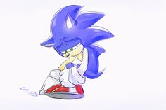 Dont be sad Sonic. Your friends will be with you. C: I love how Amy always wants to be there for sonic