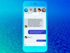 Daily UI 013 - Direct Messaging by Virág Veszteg