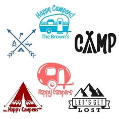 Afbeeldingsresultaten voor Free Camping SVG Files for Cricut