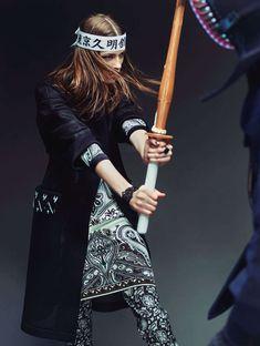Sword-Fighting Photoshoots : Stolnick Magazine February 2013