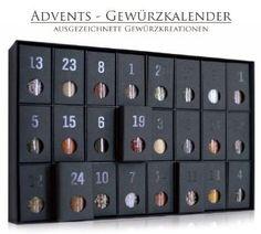 Gewürzkalender - Adventskalender mit erlesenen Gewürzen: Amazon.de: Lebensmittel & Getränke