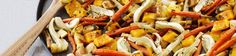 One of the best things about winter is succulent veggies like carrots, fennel and squash. Try roasting them as an impressive side dish in this simple recipe.