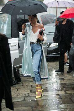 Taty Sanson e elegancia: Brasília continua chovendo meu modelito quinta