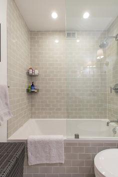 New bathroom tub remodel apartment therapy Ideas Budget Bathroom Remodel, Tub Remodel, Bathroom Renovations, Restroom Remodel, Bathroom Makeovers, House Renovations, Bathroom Design Small, Simple Bathroom, Bathroom Ideas