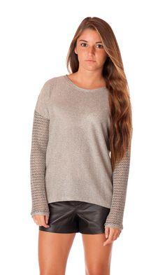 Generation Love Juliet Mesh Sweater #style #fashion #fall