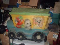 Vintage Childs Toy Box Choo Choo Train - $79 (Raymond, NH)