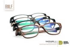 ROLF Spectacles' Saphire 92 design impresses the Good Design Award Jury as the leading brand bags the Good Design Award for 2015 in the category of Product Design: Fashion and Objects #gooddesignaward #ROLF #spectacles