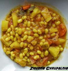 Zielona Chrupalnia : Les baked beans czyli fasolka po bretonsku Baked Beans, Free Blog, Chana Masala, Make It Simple, Vegan, Baking, Ethnic Recipes, Food, Bakken