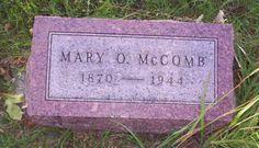 Mary O Lawrence Mccomb 1870-1944