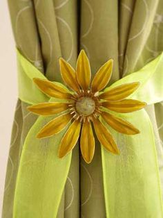 curtain binders