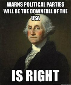 What Would George Washington Think About Clinton And Trump? History Jokes, Us History, American History, Funny History, American War, History Museum, Thing 1, Founding Fathers, American Revolution