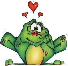 Prince Charming Frog clipart pattern #frogs #clipart #patterns #scrapbook