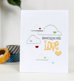 Stamp Away With Me—Wplus9 Love Showers.