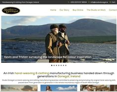 ie handweaving & clothing manufacturing business in Donegal. Website designed & built by format.