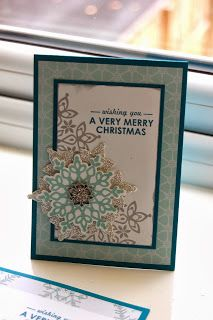 Julie's Japes - A Top Independent Stampin' Up! Demonstrator in the UK: Festive Flurry