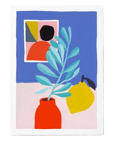 Love this print by Léa Maupetit from Baba Souk