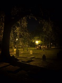 Colonial Park Cemetery is allegedly haunted by Rene Rondolier…among others.