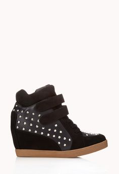 High-Voltage Wedge SneakersHigh- Forever 21