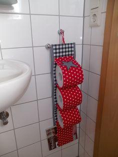Toilettenpapierhalter Stern von Melldone auf DaWanda.com