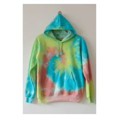 New Fashion Tie Dye Long Sleeve Loose Casual Hoodie with Pockets ($39) ❤ liked on Polyvore featuring tops, hoodies, long sleeve tops, long hoodie, loose tops, long sleeve hoodie and hooded sweatshirt
