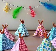 tuutsjes: feest in de tent en een DIY