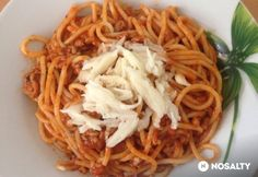 Bolognai spagetti Spagetti Recipe, Bologna, Spaghetti, Ethnic Recipes, Food, Meals, Yemek, Noodle, Eten