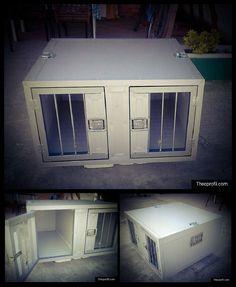 Κουτί μεταφοράς σκύλων με κάγκελα 😻😻 Boxes, Home Appliances, Dog, Storage, Furniture, Home Decor, House Appliances, Diy Dog, Purse Storage