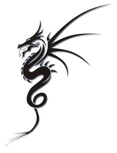 In the tattoo world, tribal dragon tattoos are gaining popularity and this tattoo design is becoming a main stream tattoo. Description from sunflowertattoo.org. I searched for this on bing.com/images
