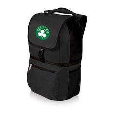 Boston Celtics Zuma Insulated Backpack Cooler w/Digital Print - Black